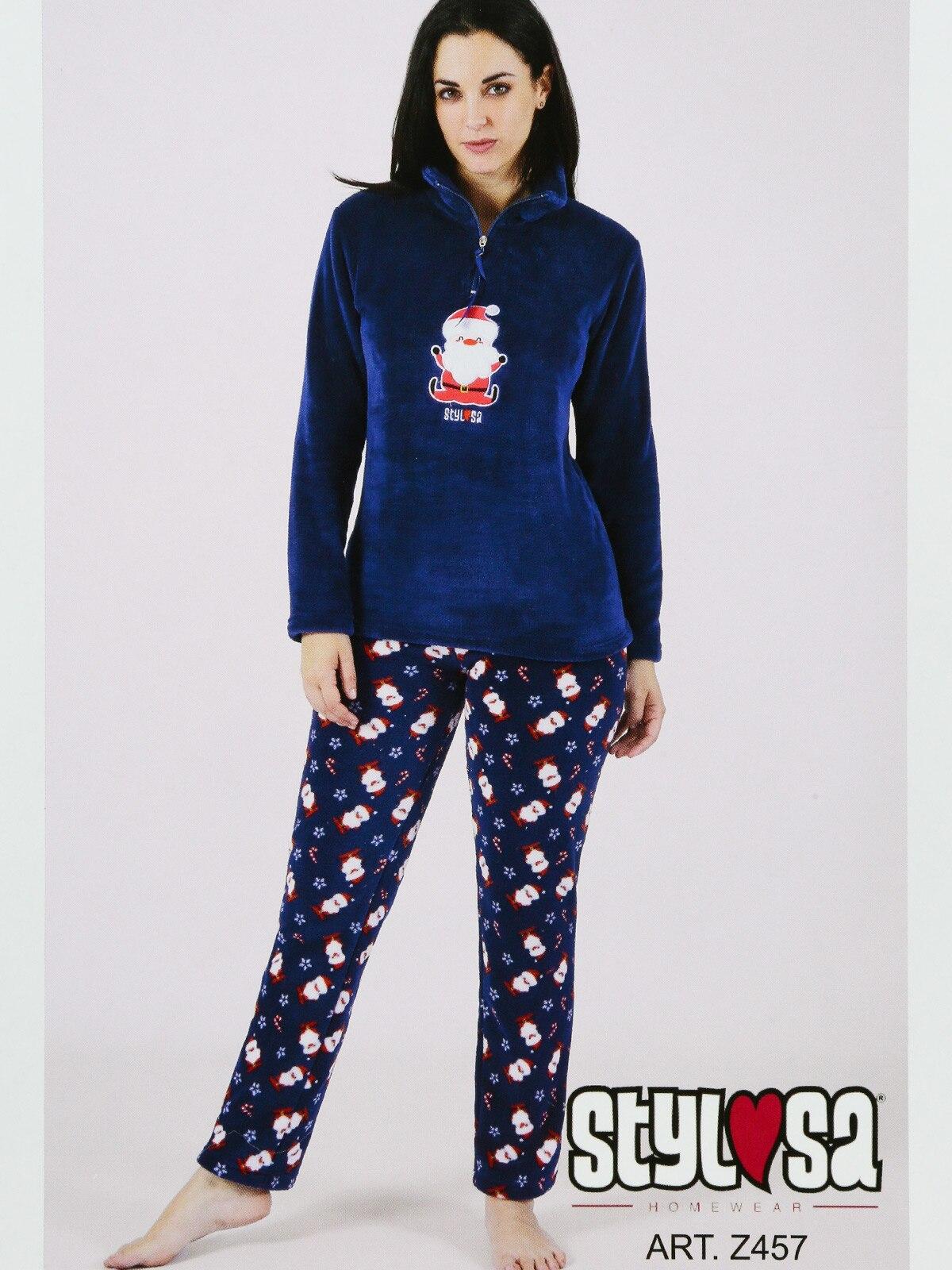 Christmas Pajamas With Embroidery