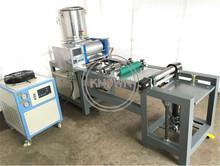 50-60 kg godzinę fabryka bezpośrednio dostarcza 205*640mm w pełni automatyczna maszyna do produkcji wosku pszczelego do pszczelarstwa tanie tanio Liuben 220V 380V CN (pochodzenie) Electric beeswax comb foundation mill 1000-1200pcs hour KN-BM1 Ze stopu aluminium ze stopu aluminium