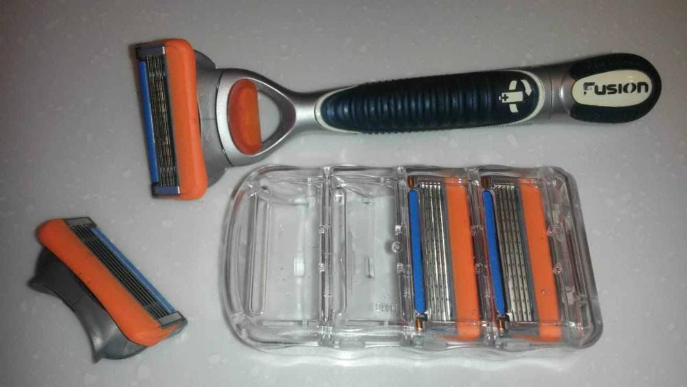 Lâmina de barbear Barbeador Lâmina Barbear