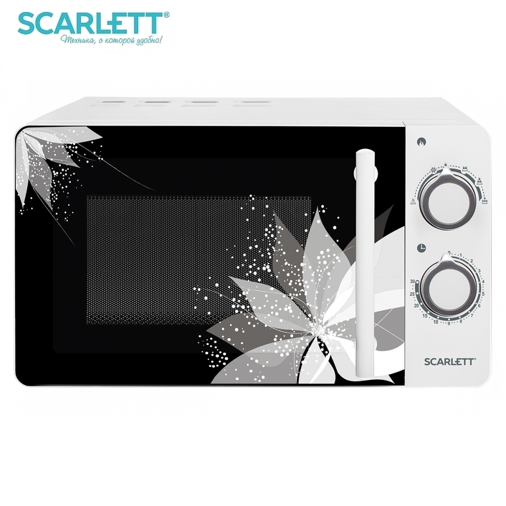 Microwave oven Scarlett SC-MW9020S06M 700 W Microwave oven kitchen Household appliances for kitchen цена