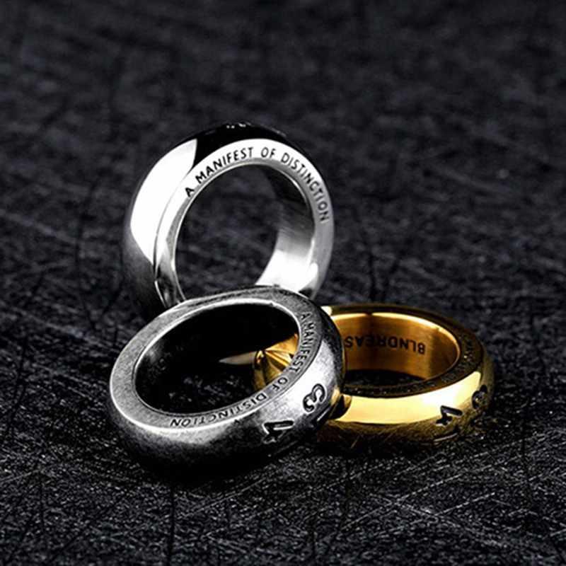 חדש חייל נירוסטה לחרוט 1314 טבעת פופולרי עבור יפן קוריאה גברים תכשיטי חתונה באיכות גבוהה