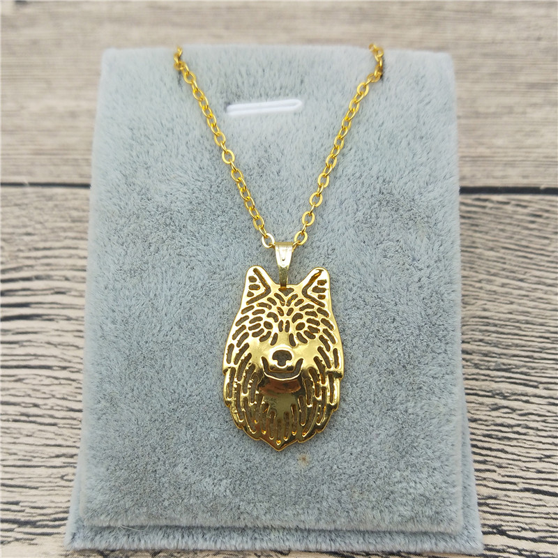 New Arrival Wolf Necklace High Quality Trendy Wolf Pendant Necklace Women Wolf Jewellery Female Male Gift