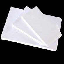 50 шт./лот, белый конверт для бумаги формата А4, Простой чистый пустой конверт, Простой декоративный конверт для свадебных приглашений