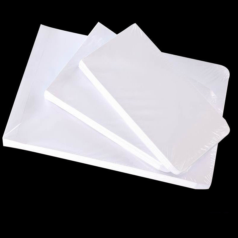 50pcs / Lot White Envelope For A4 Size Paper Simple Clean Blank Envelope Simple Decorative Wedding Invitation Envelope