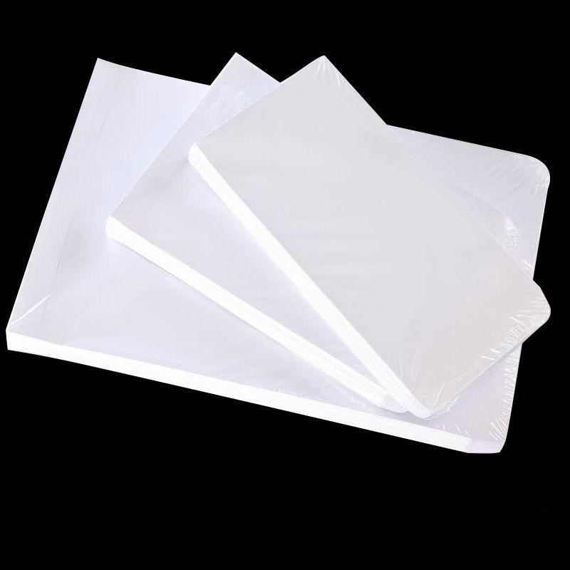50pcs / Lot White Envelope For A4 Size Paper Simple Clean Blank Envelope Simple Decorative Wedding Invitation Envelope
