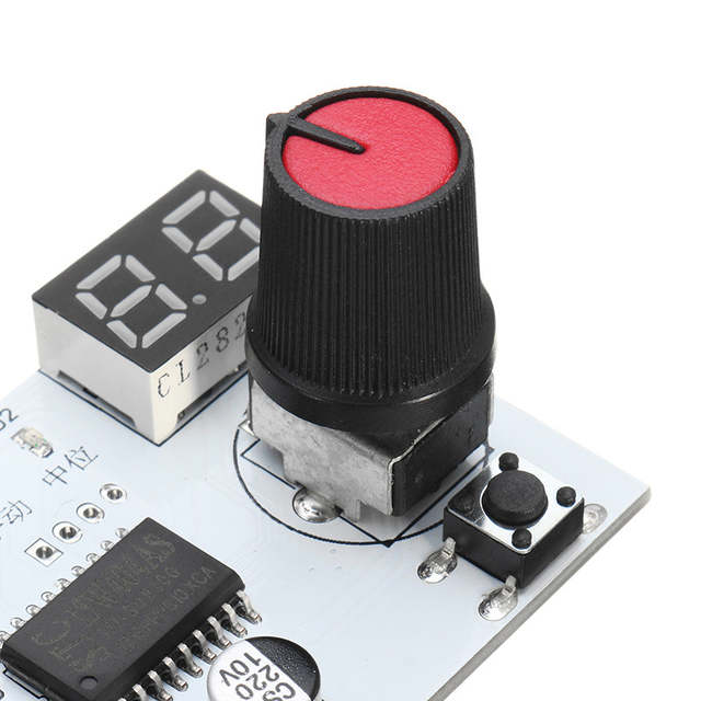 Servo Tester Voltage Display Function Servo Tester 2in1 Motor Test