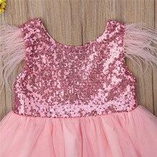 Sister Matching Sequin Princess Flower Girl Dresses