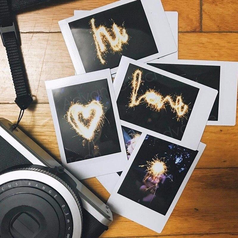 100 Feuilles Fujifilm Instax Mini 8 film pour Fuji 7 s 9 70 25 50 s 90 Instant Photo Caméra Blanc FilmShare SP-1 SP-2 - 4