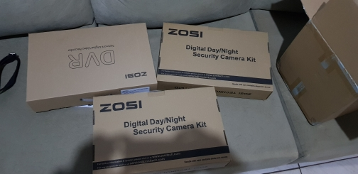 ZOSI 5MP CCTV Surveillance Security IP Camera System 8 Channel Video Nightvision DVR Kit Remote View On Phone with HDD