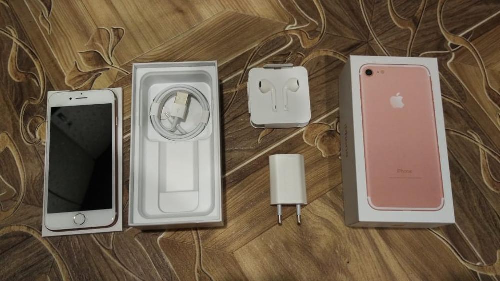 Unlocked Apple iPhone 7 mobile Phone WIFI 32GB/128GB/256GB ROM IOS 11 LTE 12.0 MP Camera Quad-Core Fingerprint apple iphone7