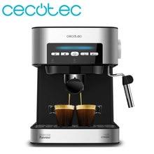 Cecotec – Machine à café Expresso Express Digital 20 Matic, Mode automatique et manuel, bras avec Double sortie et réglage