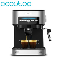 Cecotec Expresso Coffee Maker Express Digital 20 Matic Automatic and Manual Mode Coffee Machine Arm with Double Exit with Adjust