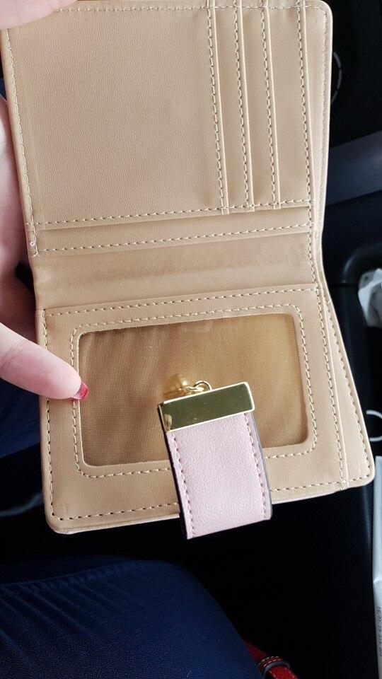 Основной материал:: ПУ; СМД гало; серия:: женщины короткие бумажник;