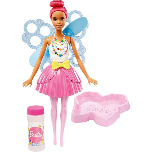 """Кукла Barbie """"Фея с волшебными пузырьками"""""""