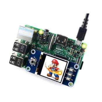 ShenzhenMaker Store 1.44 inch LCD Display HAT for Raspberry Pi 2B/3B/3B+/Zero/Zero W 128×128 pixels SPI Interface LED Backlight