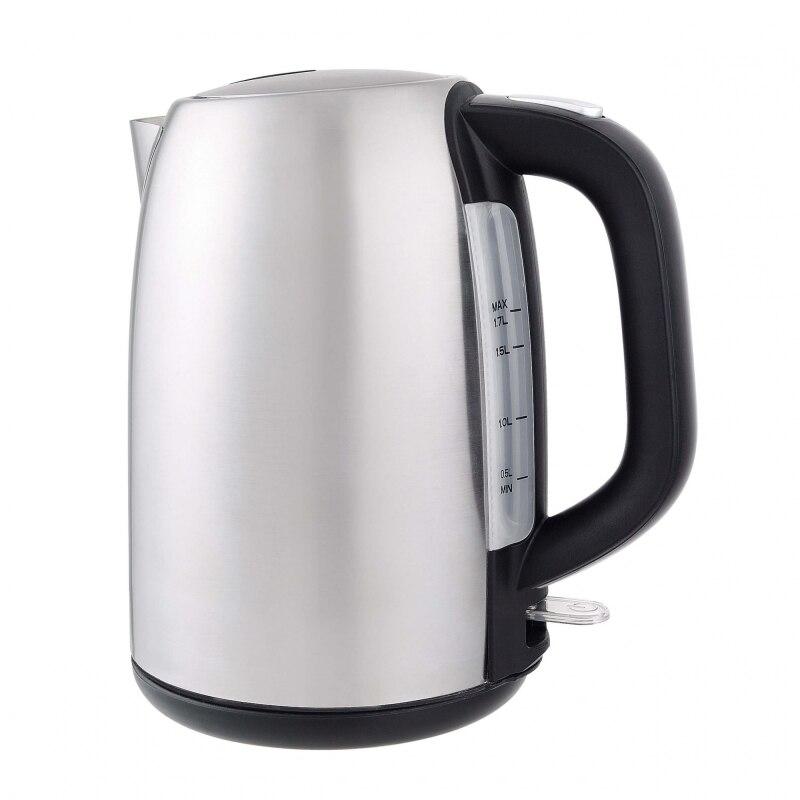Чайник электрический GEMLUX GL-EK5120 (мощность 2200 Вт, объем 1.7 л, корпус из нержавеющей стали)