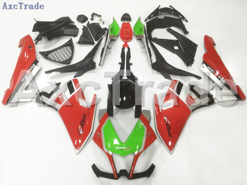 Motorcycle Fairings For Aprilia RSV4 1000 2009-2015 09 10 11 12 13 14 15 ABS Plastic Injection Fairing Bodywork Kit Red A148 14 15 3 2015