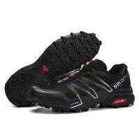 2018 salomon Men's Outdoor Sports Non Slip Wearable Trail Running Shoe Speed cross v eur 40 46