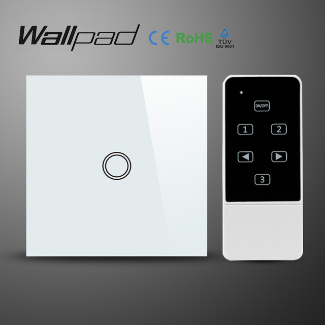 Wallpad UK EU Standard Touch Screen and Remote Control Light Switch ...
