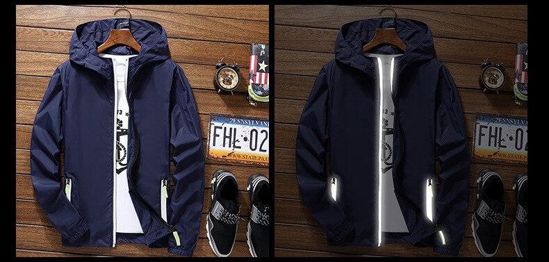 UTB8V3s4ySnEXKJk43Ubq6zLppXaJ 2019 Ultra-Light Men's Summer Hooded Jacket Super-Thin Windbreaker Packable Skin Coat Sunscreen Waterproof Beach Casual Jackets