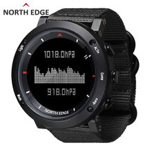 NORTH EDGE Men sport electronic watch military Army Hours Running Swimming sports watches Altimeter Barometer Compass waterproof men dive sports digital watch mens watches military army luxury full steel business waterproof 100m altimeter compass north edge