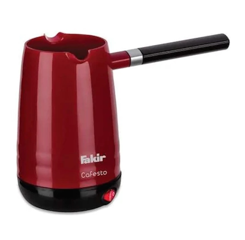 Fakir Cafesto Greek Turkish Coffee Maker Electric Pot Briki Kettle RED VIOLET