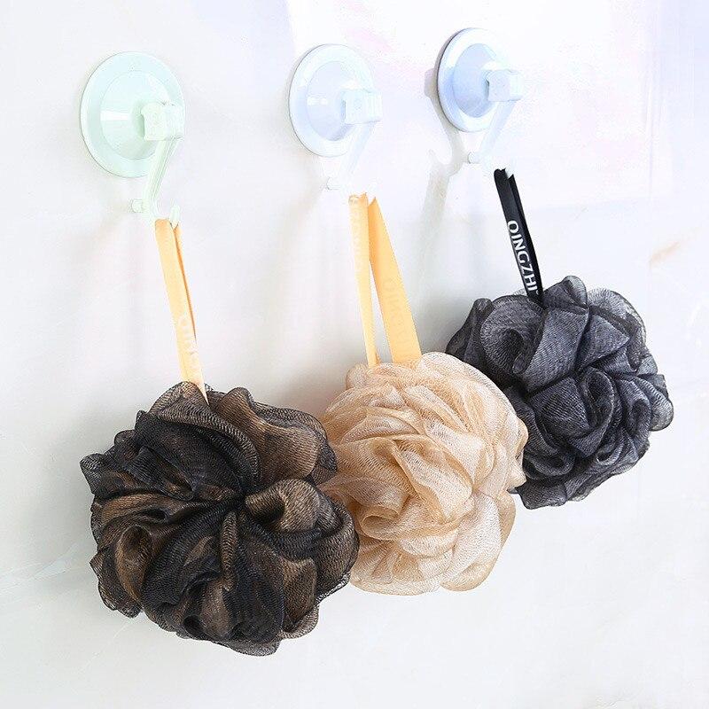 Mrosaa Bath Sponge Mesh Exfoliating Shower Pouf Bath Ball Towels Body Cleaner Shower Sponge Adult Bathing Bathroom Accessories