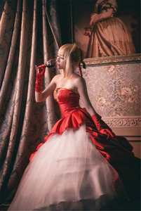 Image 5 - FATE/ZERO TYPE MOON Saber Neroคอสเพลย์เครื่องแต่งกาย10th Anniversaryสีฟ้าสีแดงผู้หญิงชุดสาวปาร์ตี้ฮาโลวีนชุดอะนิเมะเสื้อผ้า