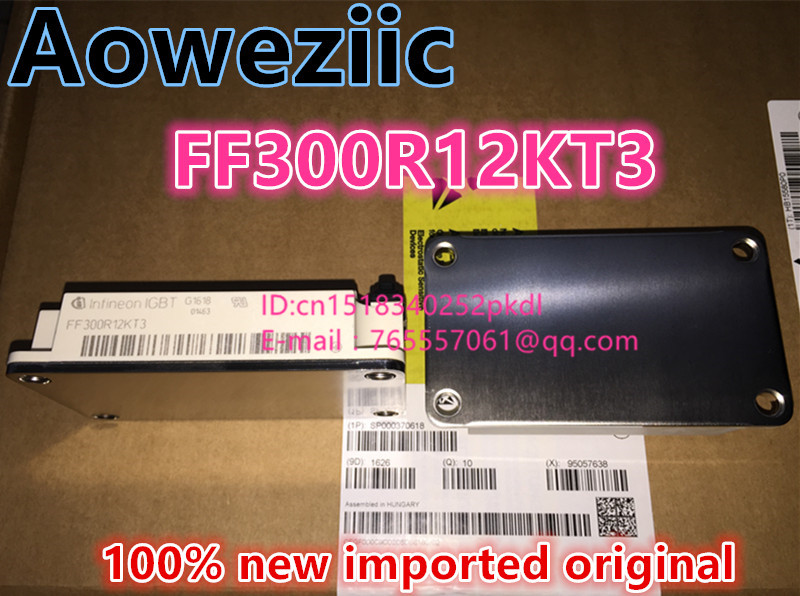 100% new imported original  IGBT FF300R12KT3  power supply module 100% new imported original 2mbi200u4h120 power igbt module