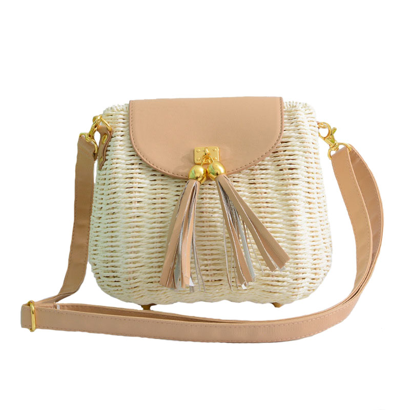 New Women Tassel Straw Bags Bohemian Female Vintage Rattan Knitted Handbag Summer Beach Lady Casual Weave Shoulder Bag SS3161New Women Tassel Straw Bags Bohemian Female Vintage Rattan Knitted Handbag Summer Beach Lady Casual Weave Shoulder Bag SS3161