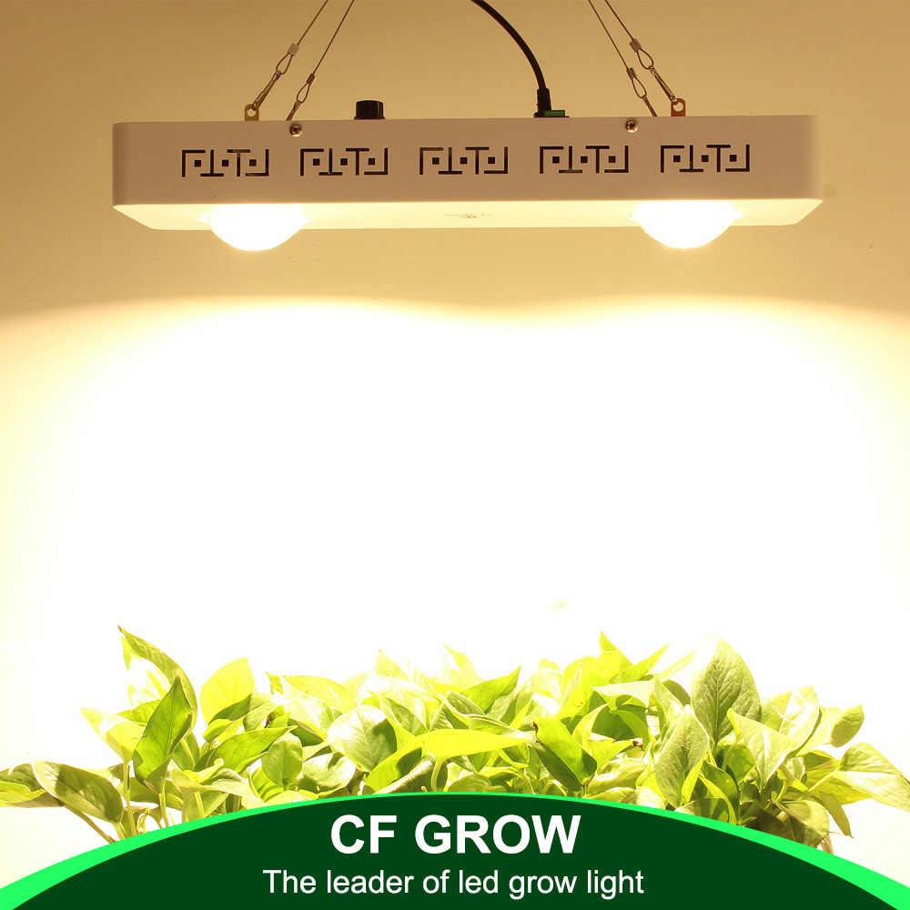 CREE CXB3590 200 Вт COB светодиодный свет для выращивания всего спектра с регулируемой яркостью 26000LM = HPS 400 Вт лампа для выращивания растений в помещении