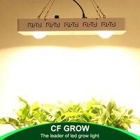 CREE CXB3590 26000LM Regulável COB 200W LEVOU Crescer Espectro Completo de Luz = 400W HPS Crescer Lâmpada Planta de Interior crescimento de Iluminação Do Painel