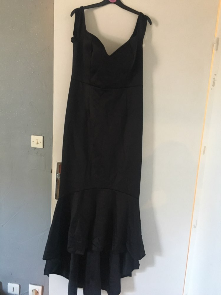 Online Shop Gosopin summer party dress 2017 Black Maroon Big Size XXLOff-shoulder  Mermaid Jersey Maxi Dress Vestidos de Festa Longo LC60171  7464b7793ab8