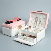 2015 Creative Jewelry Storage Pu Leather Stud Earrings Collection Book Travel Portable Jewelry Display Creative Jewelry