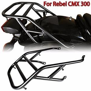 Черный багажник на заднее крыло для моделей Honda 2017-2018 Rebel CMX 300 500