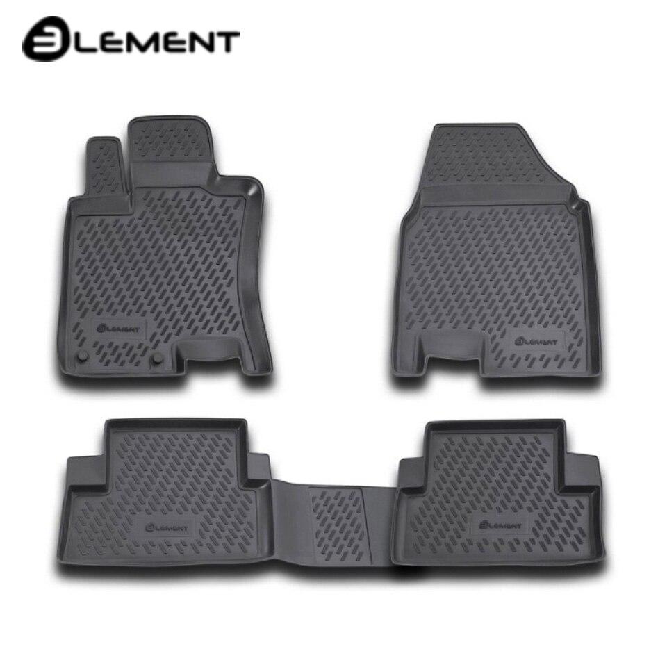 Para Nissan Qashqai J10 2007-2013 alfombras de piso en salón 4 unids/set elemento CARNIS00021