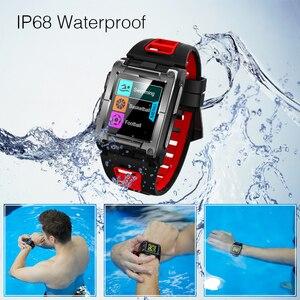 Image 5 - Makibes G08 1 Jahr Garantie GPS Uhr Kompass Armbanduhr Bluetooth Smart Uhren Wasserdicht Herz Rate Multi sport Doppel Elf