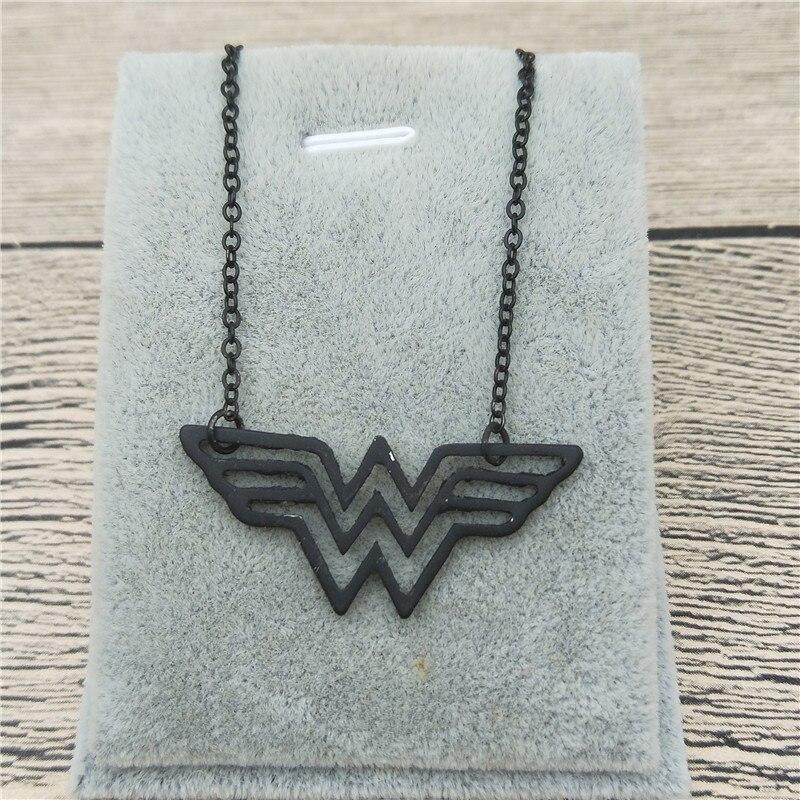 Новый золотой Цвет серебро Цвет Wonder Woman Цепочки и ожерелья Диана Принц Шарм Wonder Woman ювелирные изделия супер герой ювелирные изделия