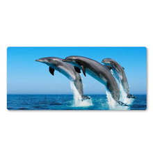 Best Selling Happy Dolphin Mouse Pad High Quality Mouse Mat Game Team PC Game Computer Keyboard Game Mats Christmas Gifts