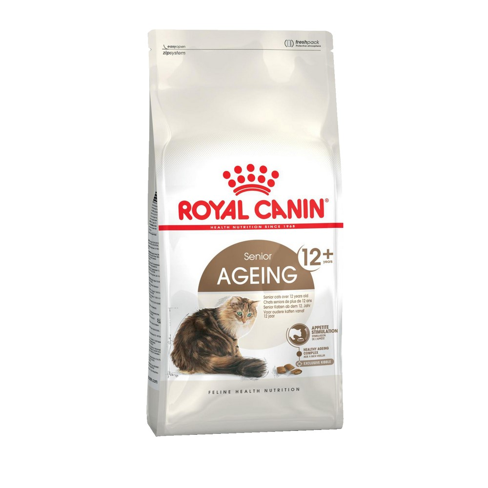 Cat Food Royal Canin Ageing 12+, 4 kg royal canin royal canin feline ageing 12 jelly