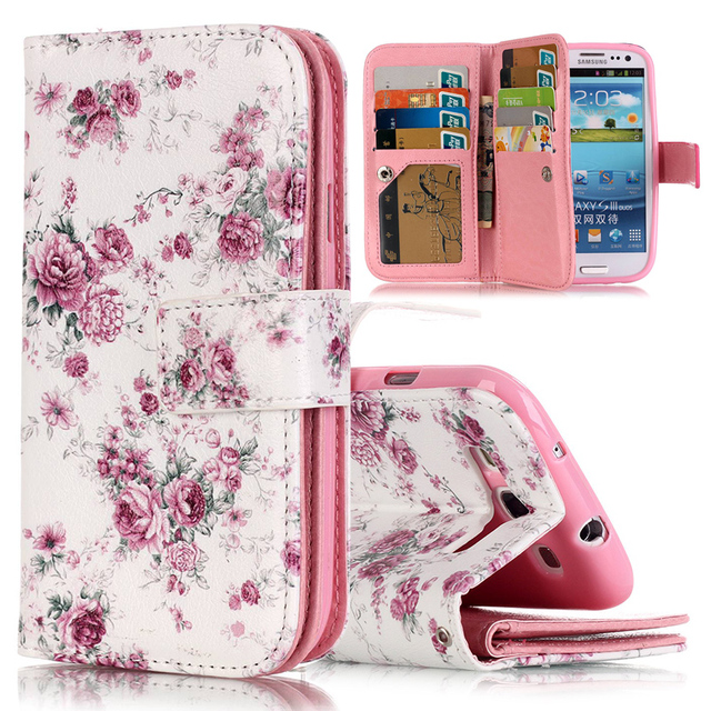 Case for Samsung Galaxy S3 S 3 GalaxyS3 SIII Neo Duos GT I9301i I9300i GT-I9301 GT-I9301i GT-I9300 Case Flip Phone Leather Cover