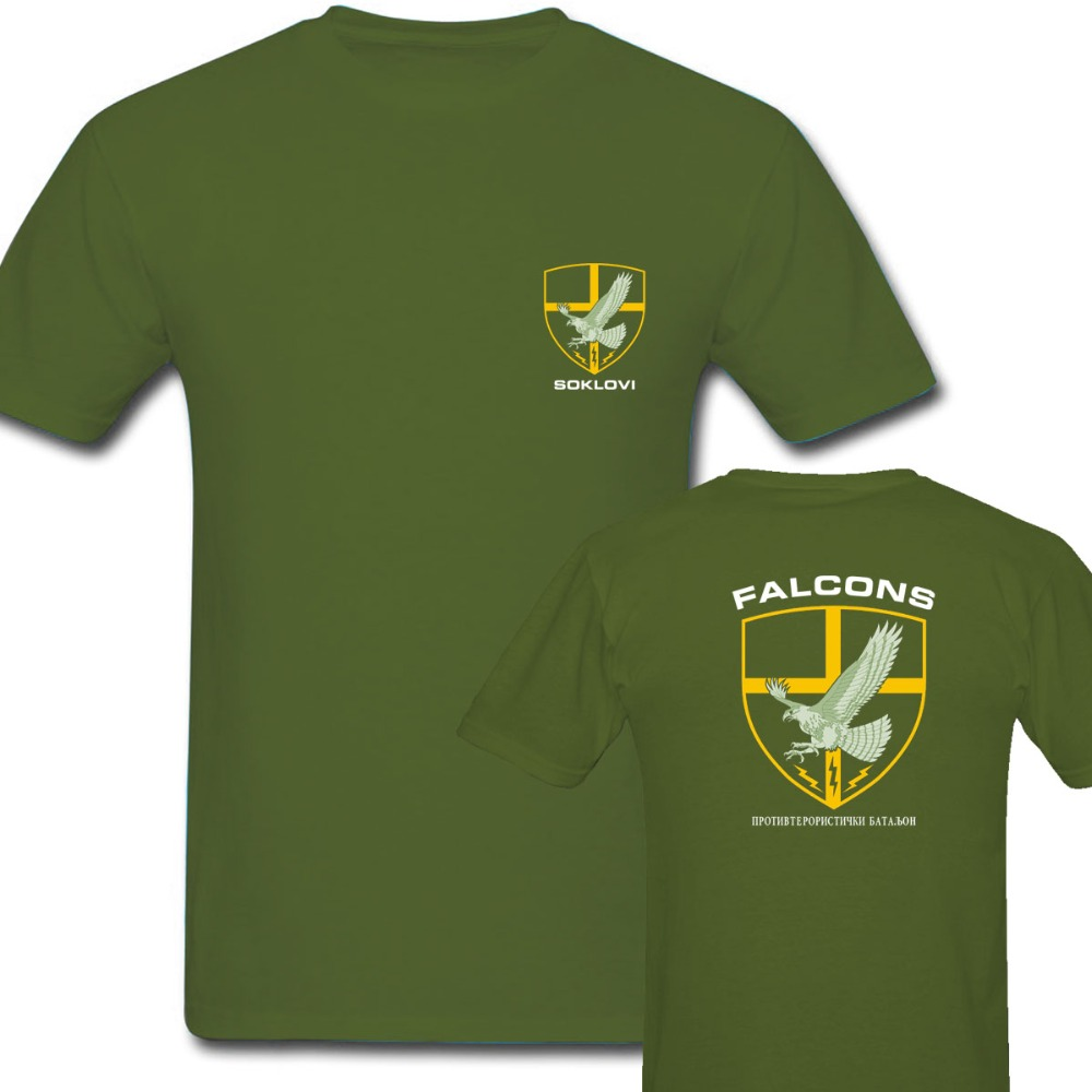 Army green summer Tops Germany KSK Norway Norwegian SPQR Roman Rome JW GROM Poland Serbia Police Special Forces Men's T Shirts