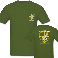 Army Green Summer Tops Germany KSK Norway Norwegian SPQR Roman Rome JW GROM Poland Serbia Police