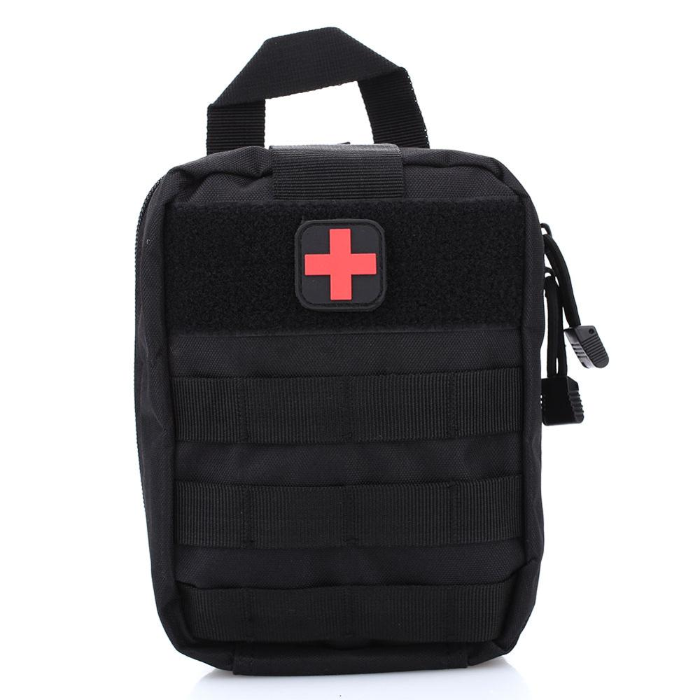 First Aid Kit  Backpack Portable Water Cloth Outdoor Activities Medical Emergency Bag Waist Pack  Oxford 600D Nylony Rescue Bag