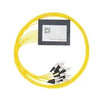 1 8 Optical Fiber Splitter FC 1 8 FTTH Fiber Splitter Cable Branching Device Single Mode