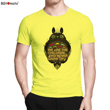 Новые милые Тоторо футболка Лидер продаж в стиле хип-хоп футболка бренд хорошее качество четыре цвета рубашки Google Лидер продаж Популярные GTA 5 рубашка