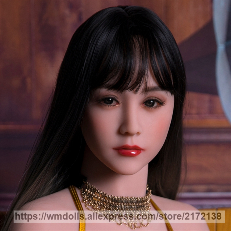 WMDOLL Sex Dolls Head with Oral Sex Lifelike Silicone Love Doll Adult Toys TPE Sex Doll Heads 140cm-170cmWMDOLL Sex Dolls Head with Oral Sex Lifelike Silicone Love Doll Adult Toys TPE Sex Doll Heads 140cm-170cm