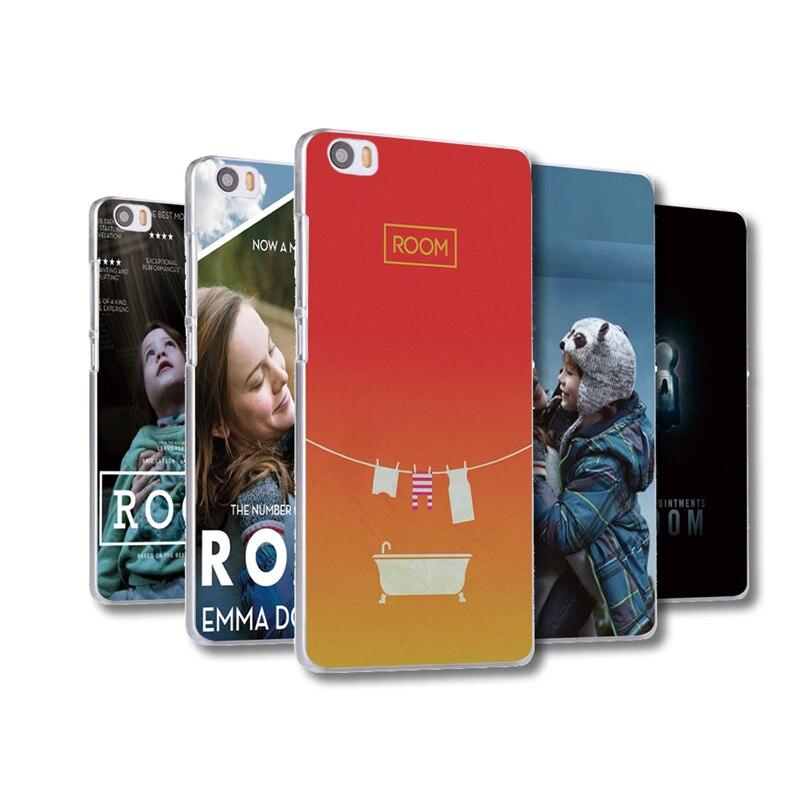 ROOM <font><b>movie</b></font> poster <font><b>Phone</b></font> <font><b>case</b></font> plastic cover For Xiaomi mi5 mi5c mi5s plus mi6 Redmi Note 2 note3 3X 4A Pro