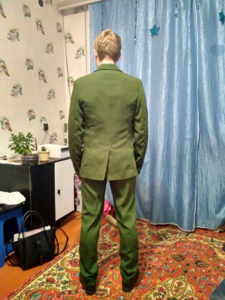 0ad102ed21b7 New Coat Pant Green Suit Slim Fit For Men 3 Piece Suits – Afkar Shop ...