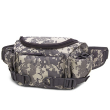 Tactical Waist bag Military Army Molle men sports Bag camo Rucksack for Outdoor Sport Treking Running Hiking Hunting Camping